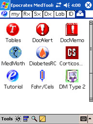 epocrates screenshots